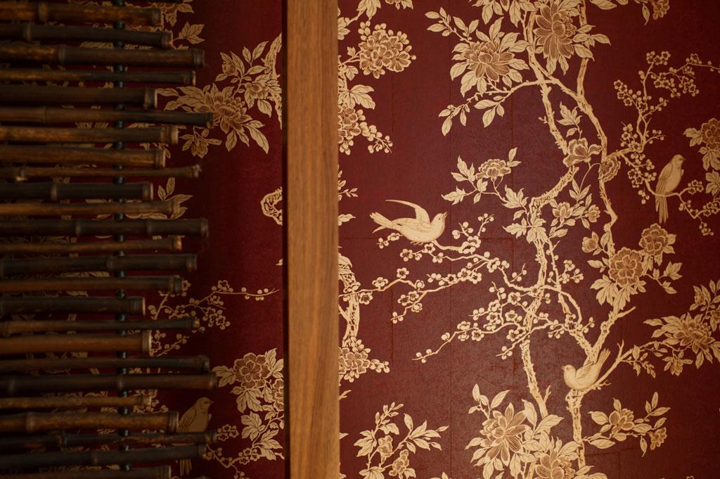 florale tapetenmuster g ste. Black Bedroom Furniture Sets. Home Design Ideas