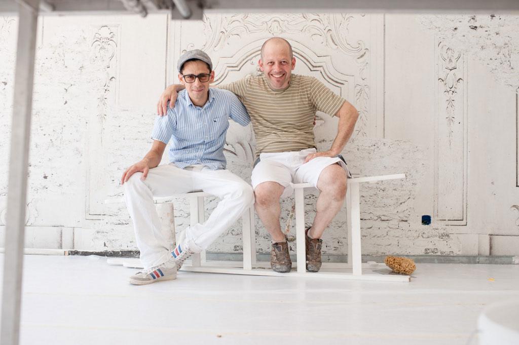 tapete fitnessraum team. Black Bedroom Furniture Sets. Home Design Ideas